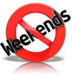 no-weekends