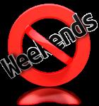 no-weekends
